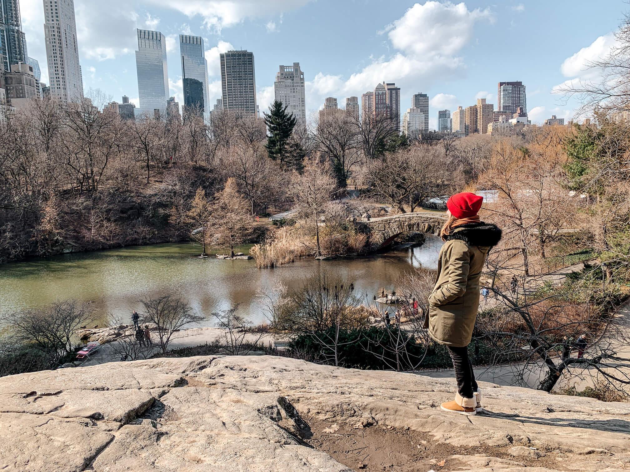 Central Park, un des incontournables à New York