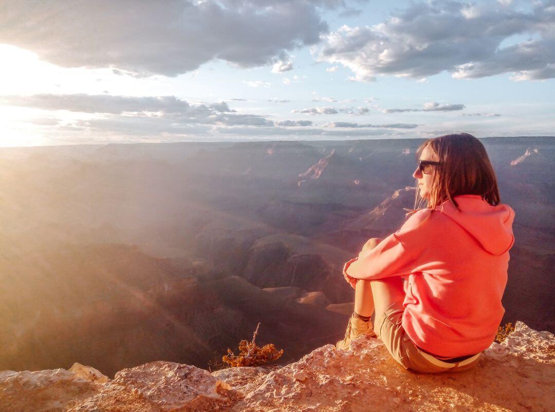 La vue sur le Grand Canyon