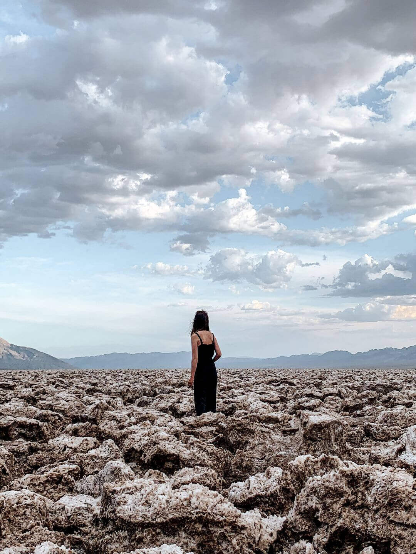Devil's Golf Course à Death Valley