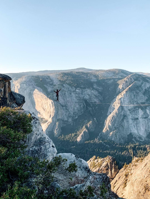 Taft Point à Yosemite, voyager en Californie