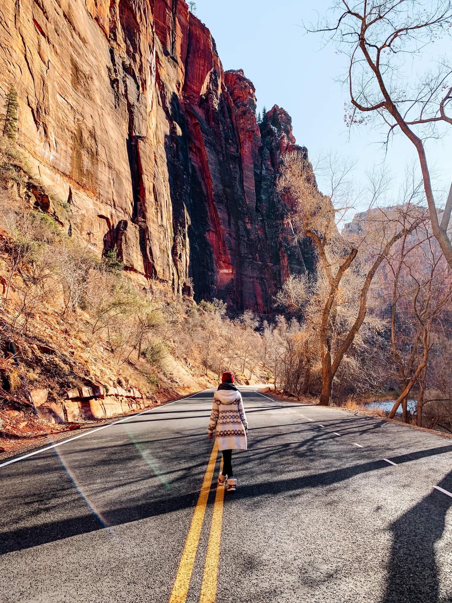 Les routes de Zion National Park