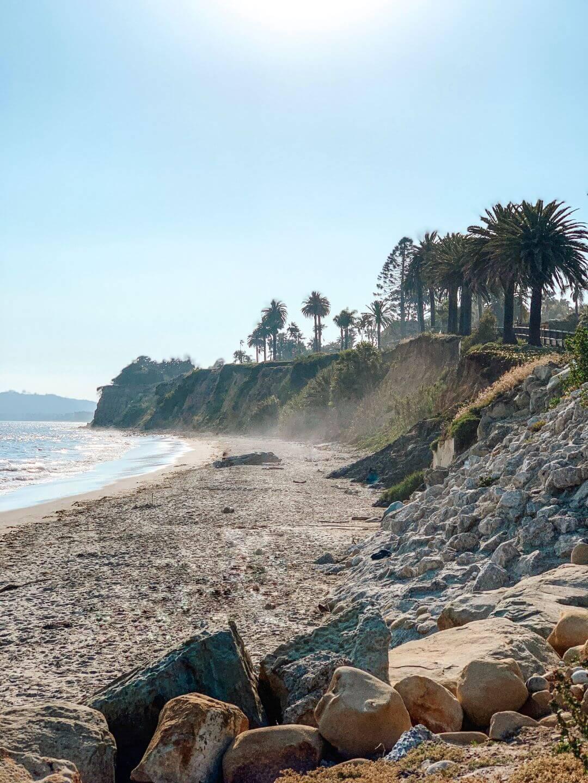 Butterfly Beach en Californie