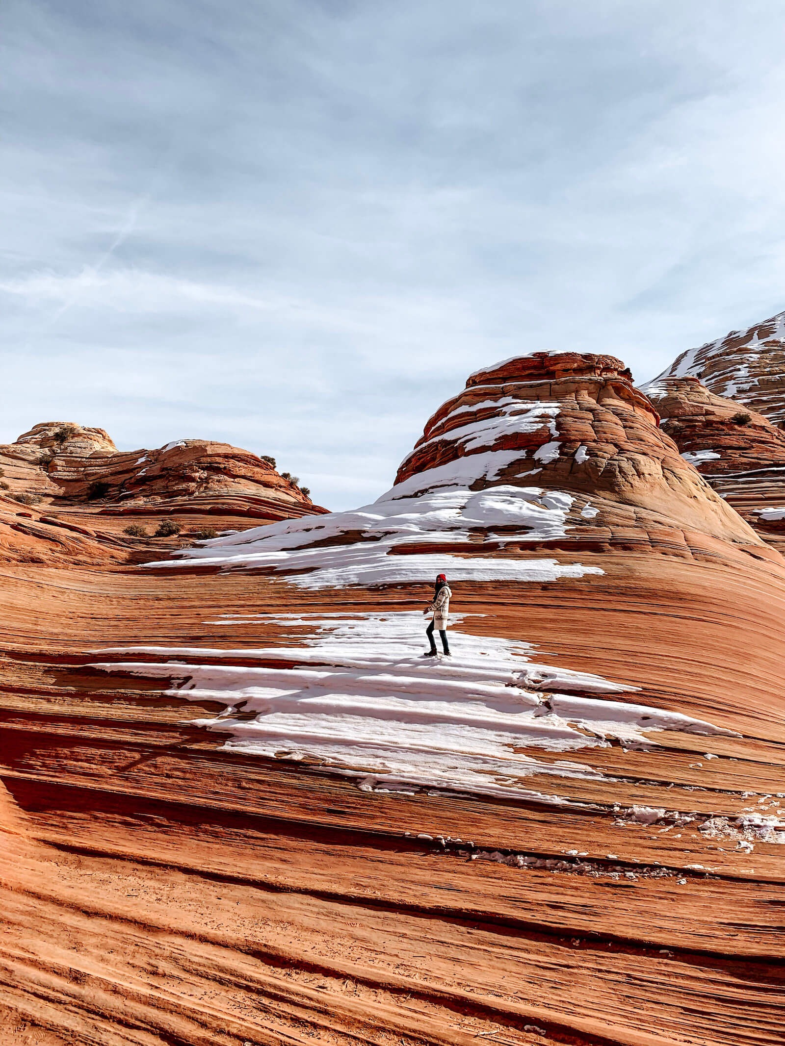 La balade de The Wave en Utah