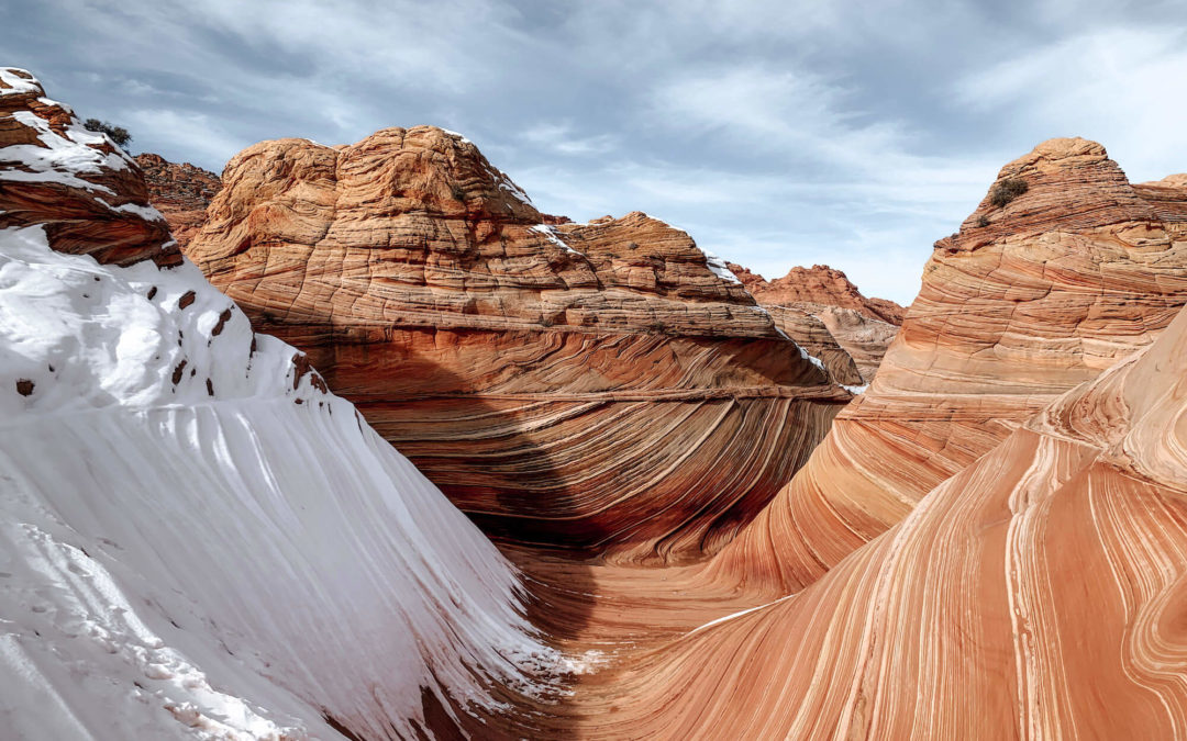 La visite de The Wave (USA) aux Coyote Buttes North