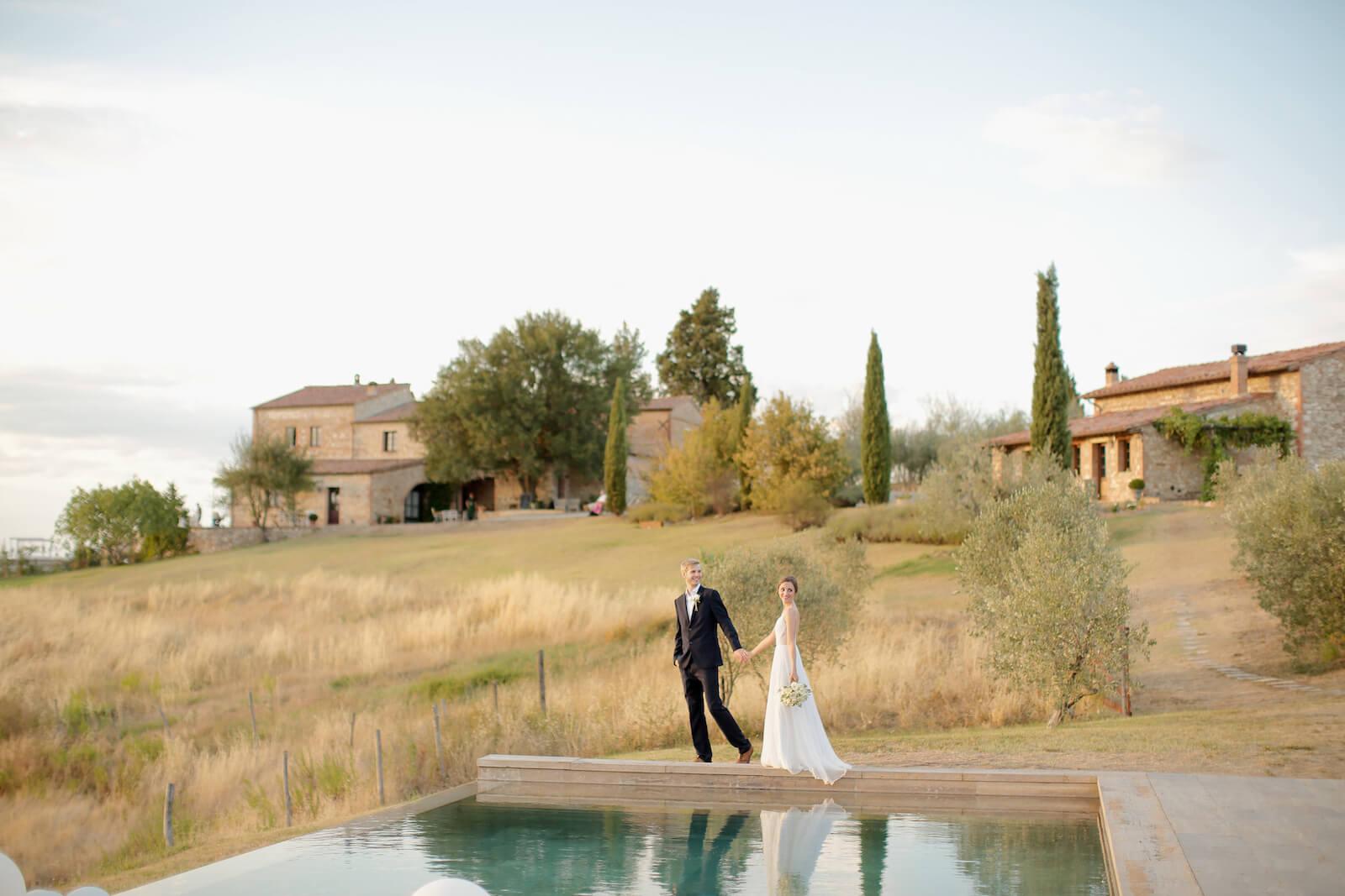 Un mariage romantique en Toscane