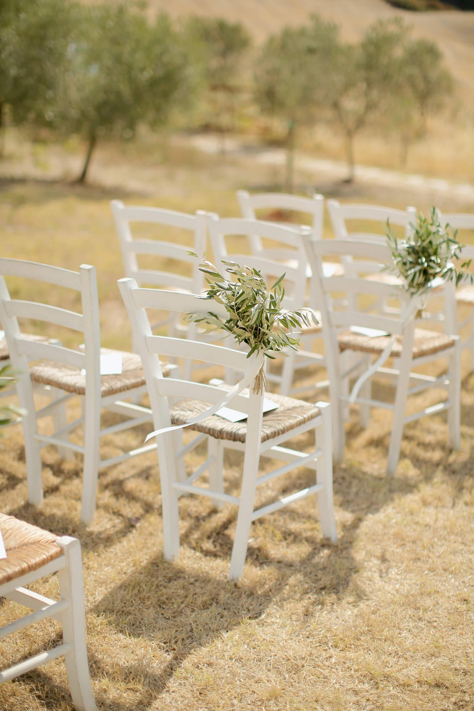 La cérémonie de mariage en Italie