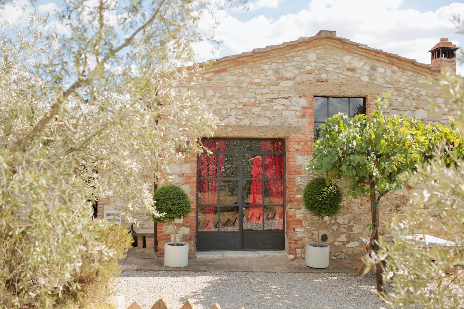 Location endroit de mariage en Italie