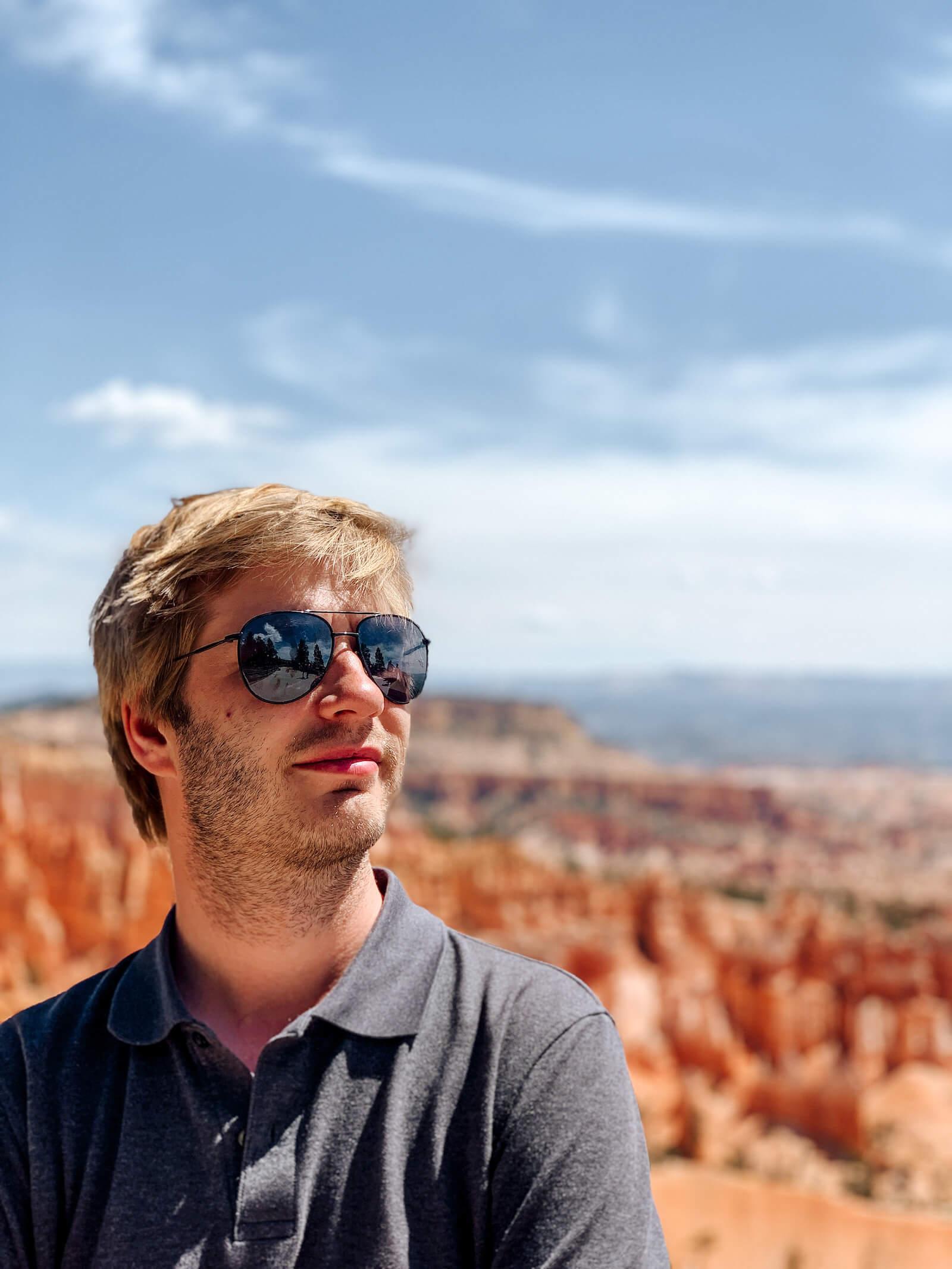 Alex à Bryce Canyon