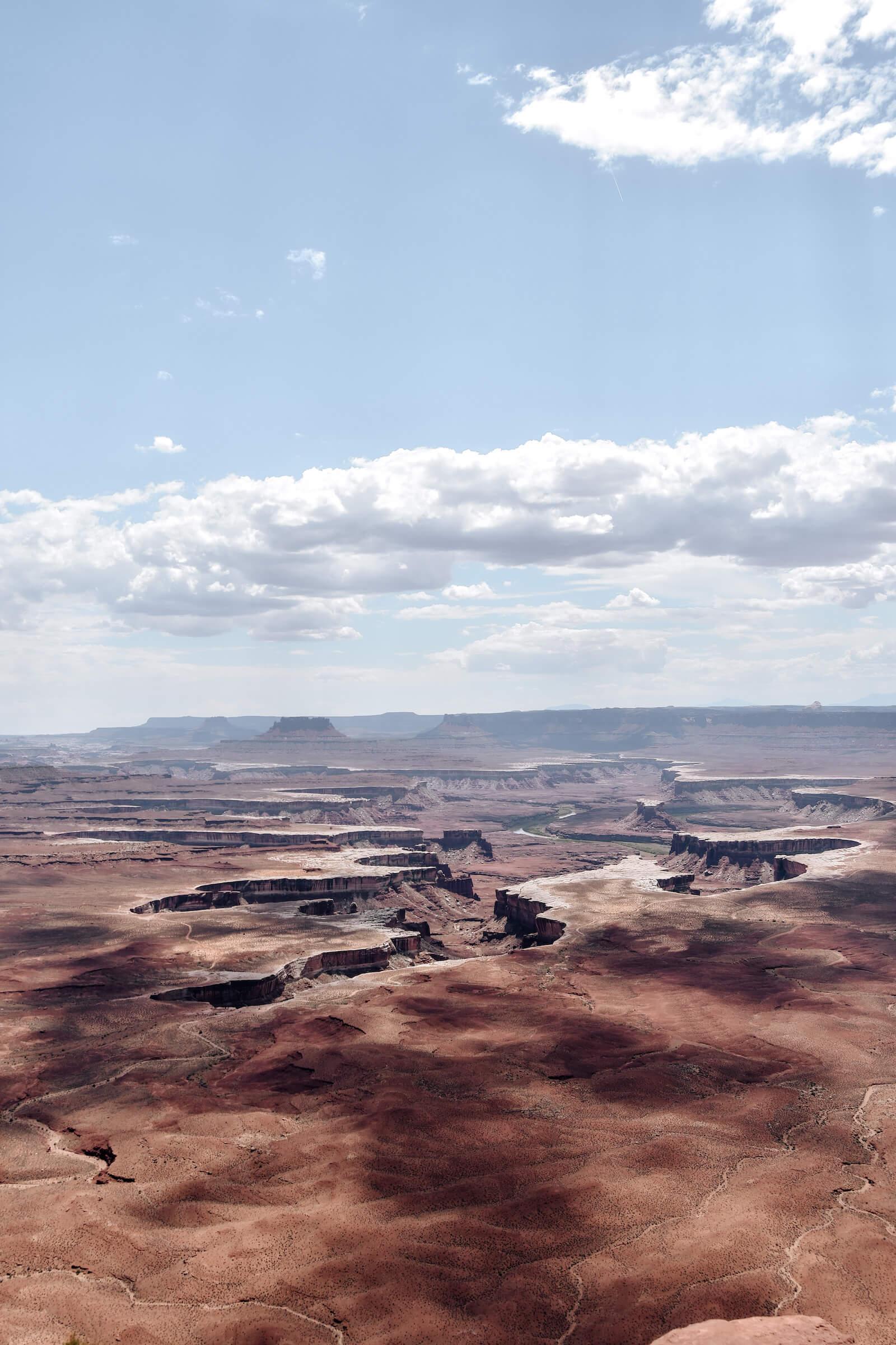 Les vues sublimes de Canyonlands