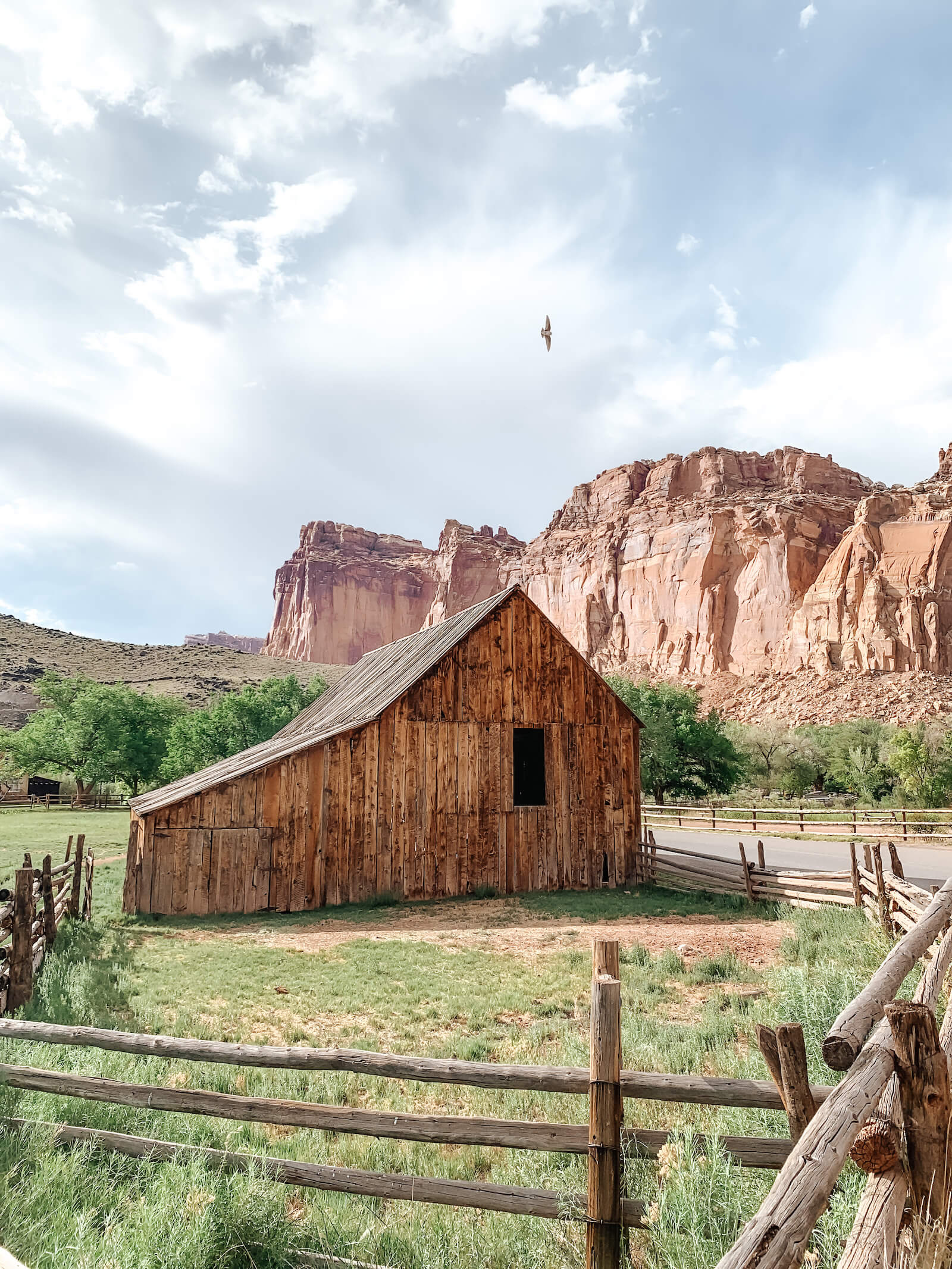 Barn a Capitol Reef National Park