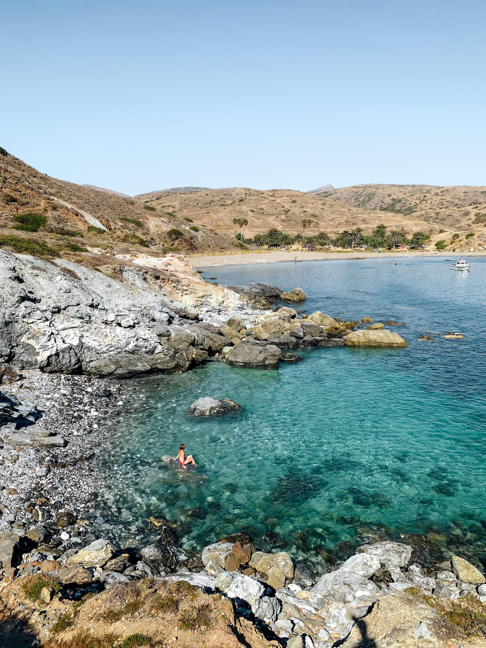 Les plages de Little Harbor à Catalina Island