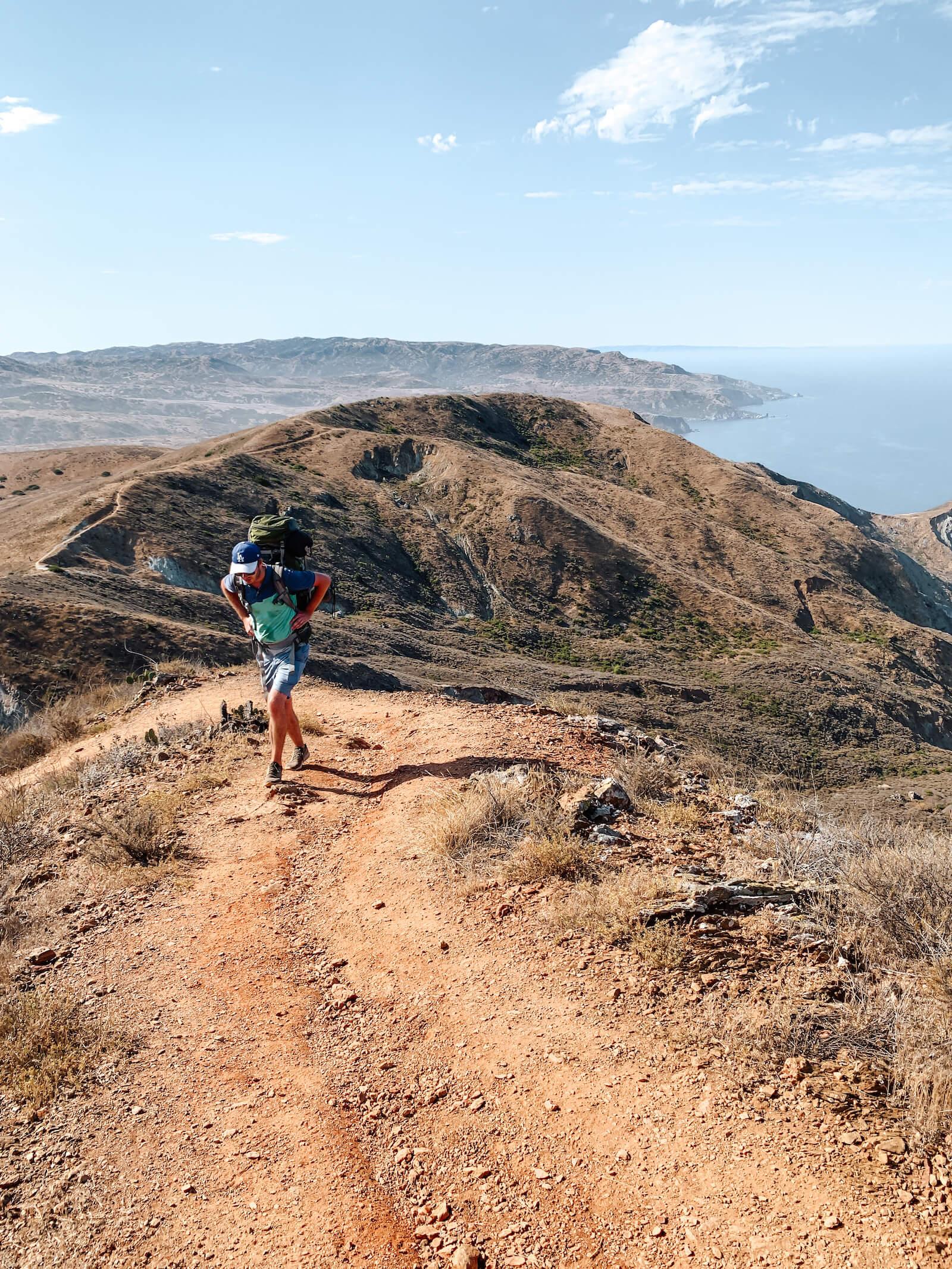 Trans Catalina Trail à Catalina Island