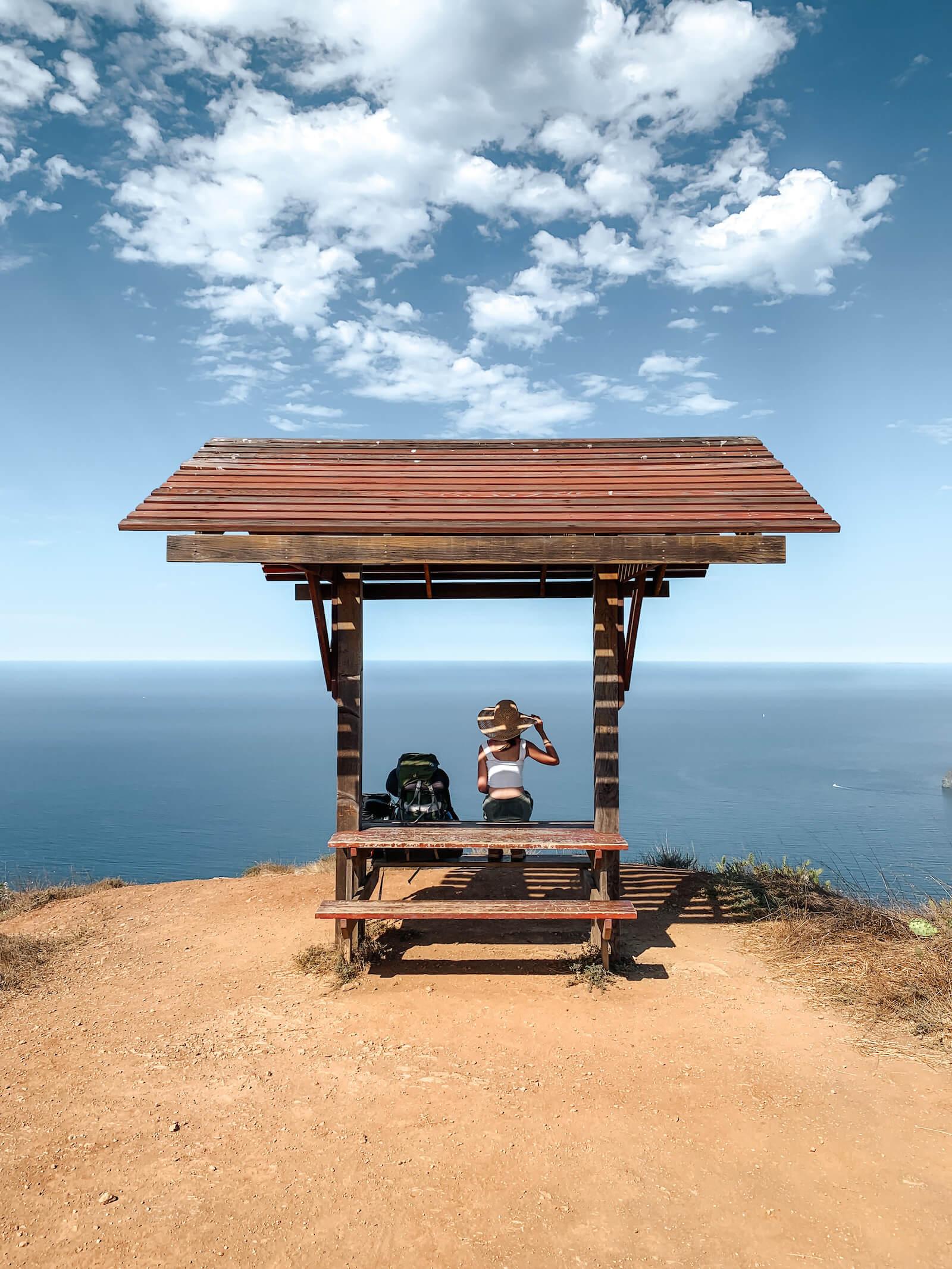 Pique Nique sur le Trans Catalina Trail