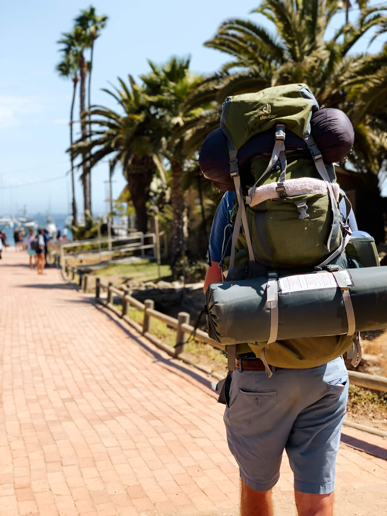 Backpacking et camping sur la Catalina Island
