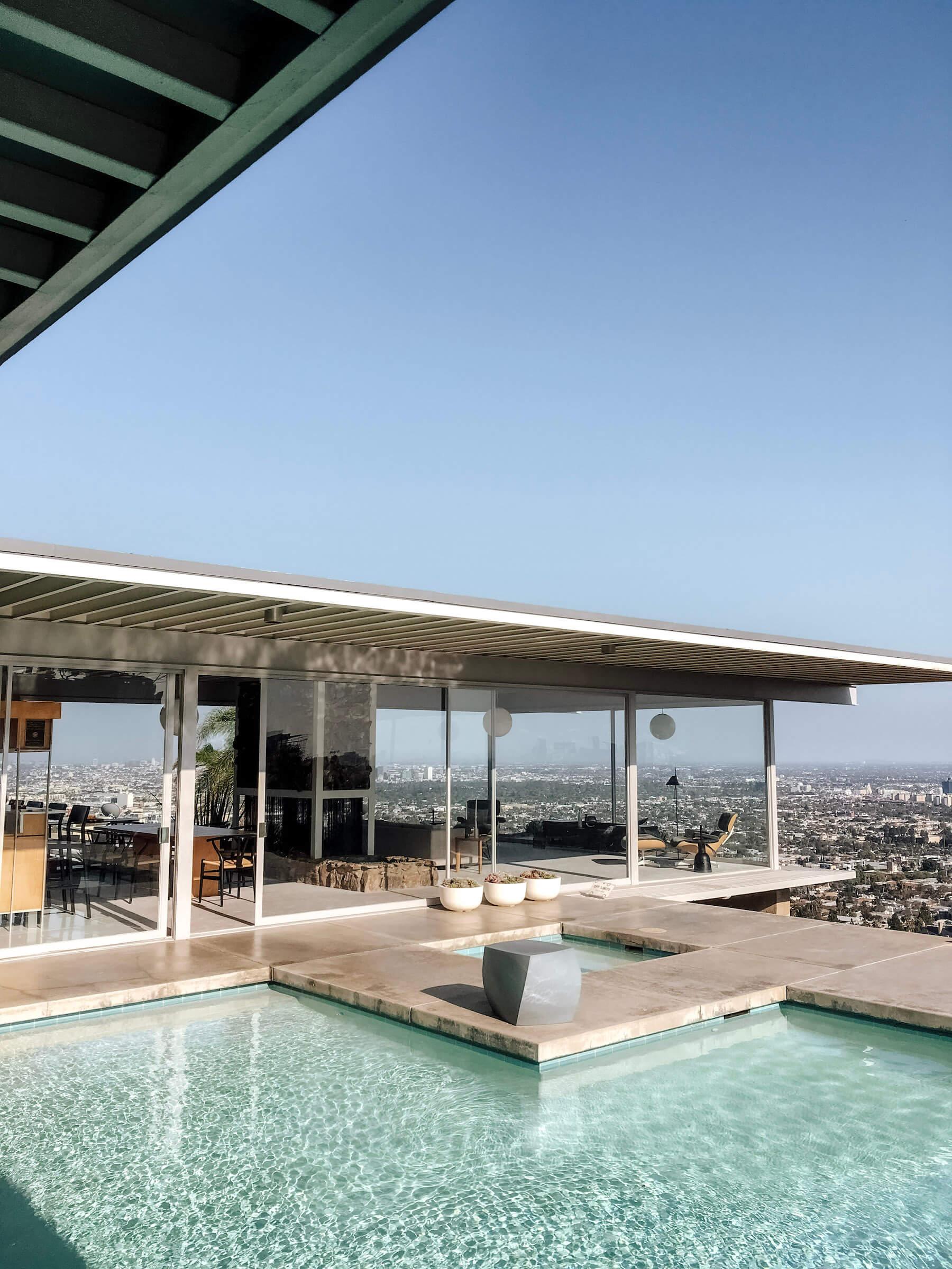 Stahl House - méconnus incontournables Los Angeles - voyage en Californie