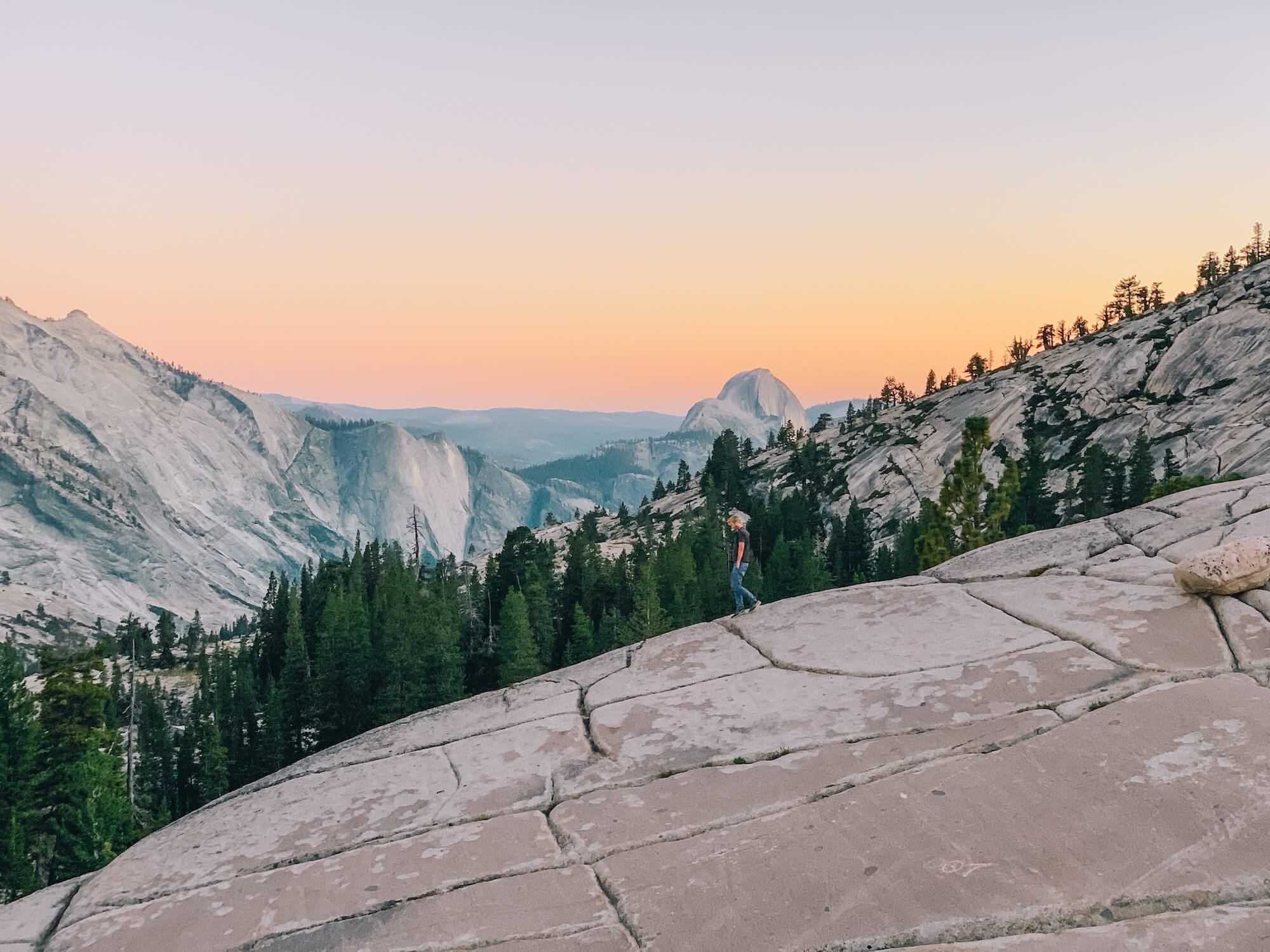 Yosemite National Park - Olmsted Point