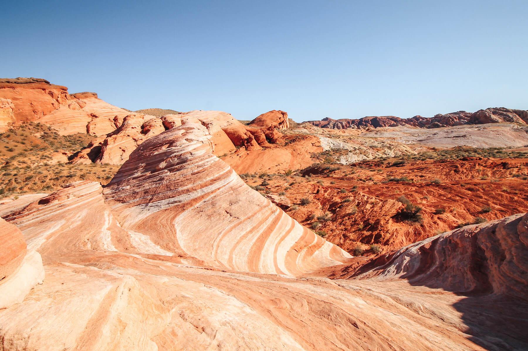 Valley of Fire - méconnus incontournables Las Vegas - voyage en Californie