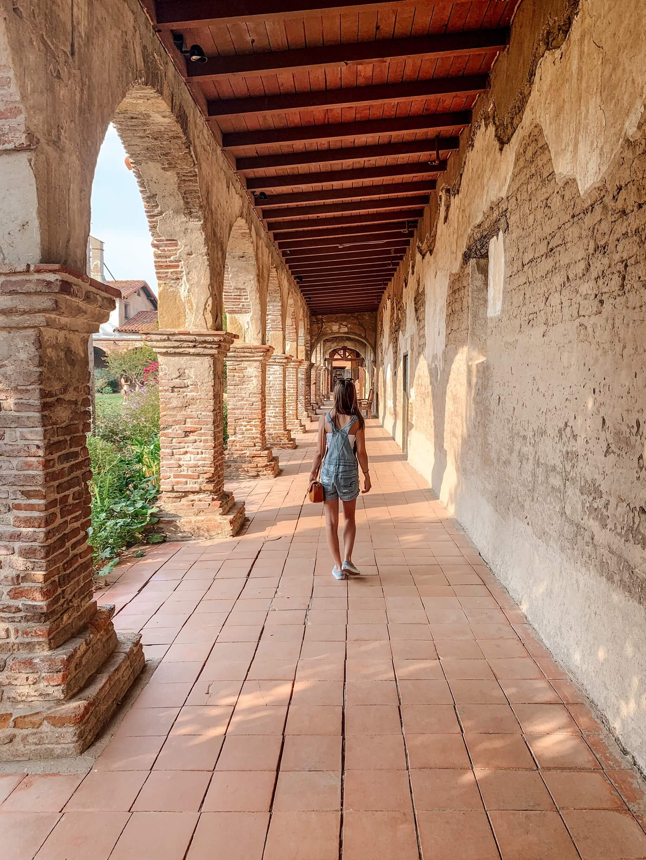 Mission de San Juan Capistrano - méconnus incontournables Los Angeles - voyage en Californie
