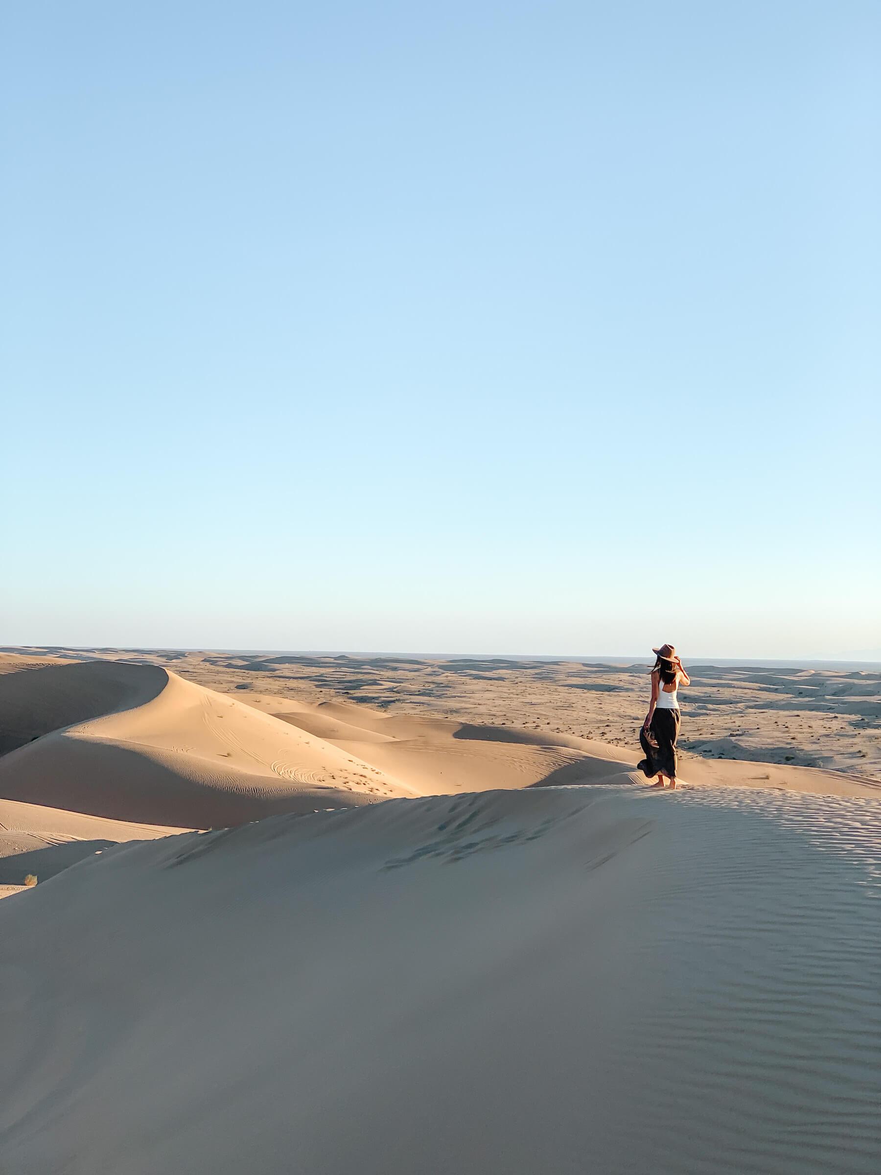 North Algodones Dunes - méconnus incontournables Palm Springs - voyage en Californie