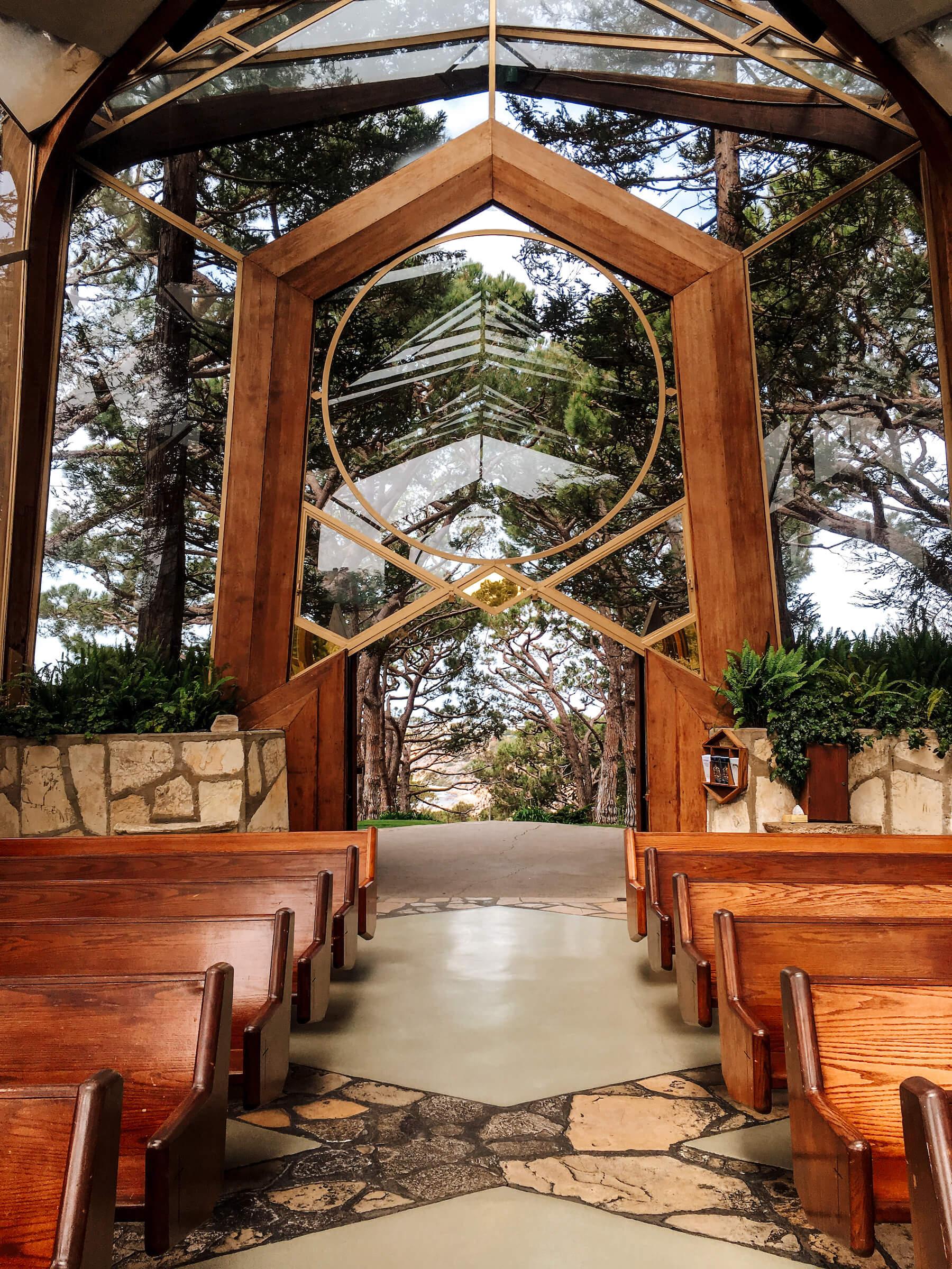 Wayfarers Chapel - méconnus incontournables Los Angeles - voyage en Californie